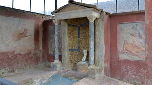 Casa de Loreio Tiburtino, otra villa recuperada