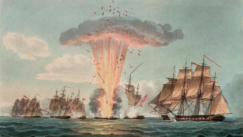 Fragata 'Mercedes': la traición con la que Inglaterra robó uno de los tesoros más grandes de América al decadente Imperio español