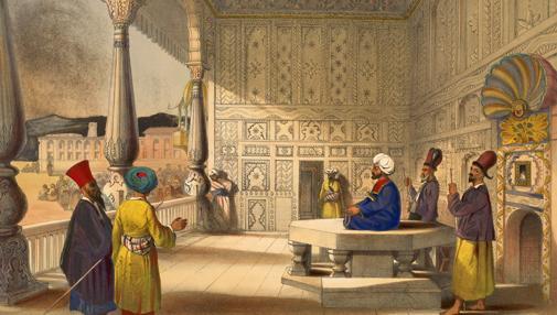 Shah Shujah Durrani en 1839.