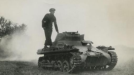 Panzer I, uno de los carros de combat eusados por los alemanes en Polonia