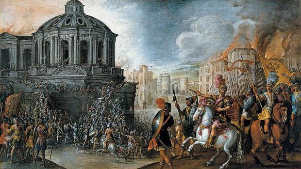 En 1527 el ejército de Carlos V arrasó Roma y estuvo cerca de acabar con la vida del Papa