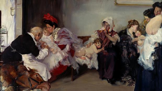 «Vacunación de niños» Borrás Avellá Vicente