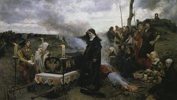 Doña Juana «la Loca» (1877), de Francisco Pradilla y Ortiz. Museo del Prado (Madrid).