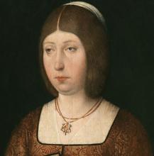 Retrato de Isabel La Católica