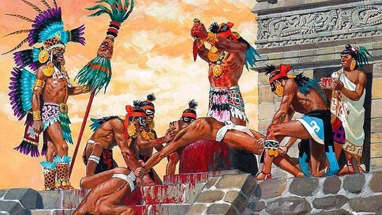 Las Crueles Pr 225 Cticas Can 237 Bales De Los Aztecas Que