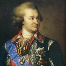 Retrato de Grigory Potemkin