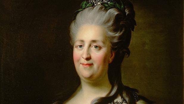 Retrato de Catalina II, por Johann Baptist von Lampi the Elder