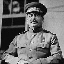 Fotografía de Iósif Stalin
