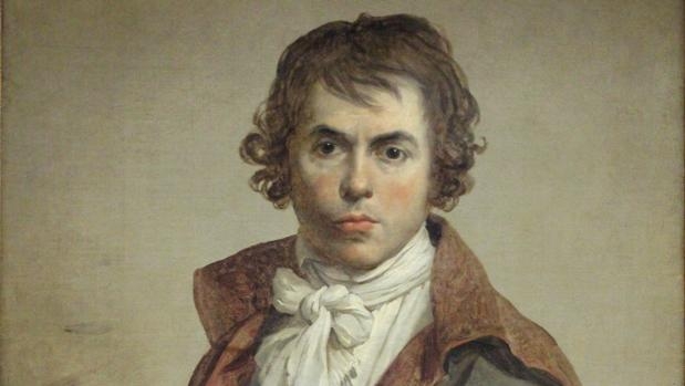 Auotorretrato Jacques-Louis David