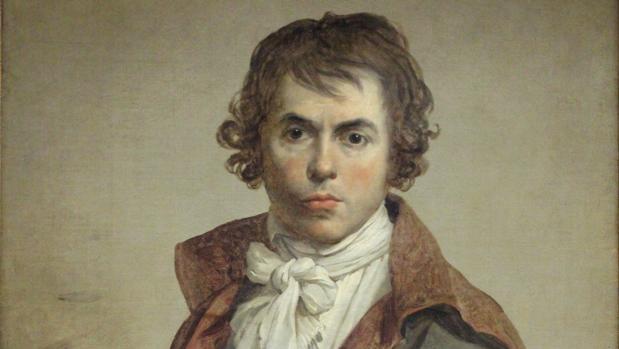 Auotorretrato Jacques-Louis David