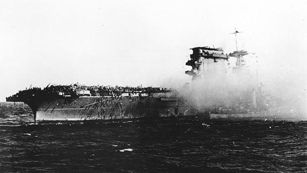 El fin del «USS Lexington»