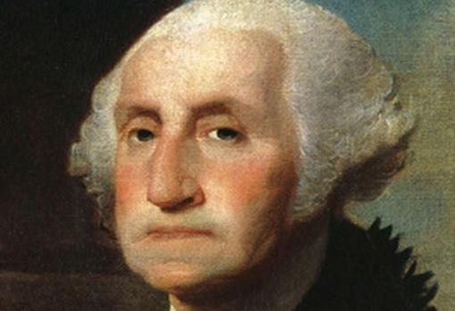 El retrato más famoso del presidente. En él, aparece con la mandíbula apretada