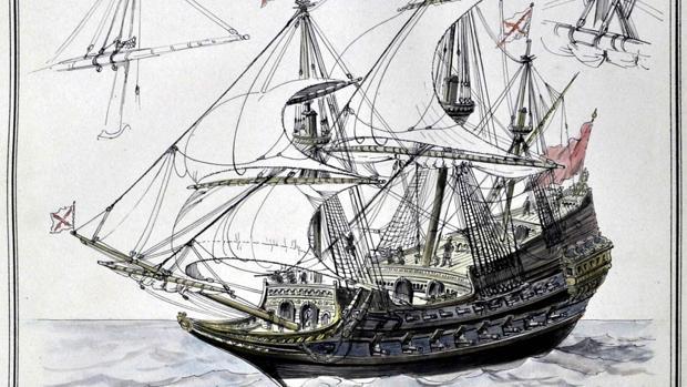 Página del diccionario de construcción naval de Rafael Monleón.