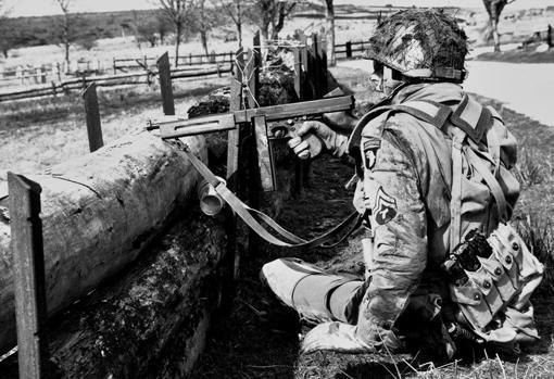 Paracaidistas en Caen