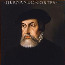 Retrato de Hernán Cortés basado en el enviado por el conquistador a Paulo Giovio