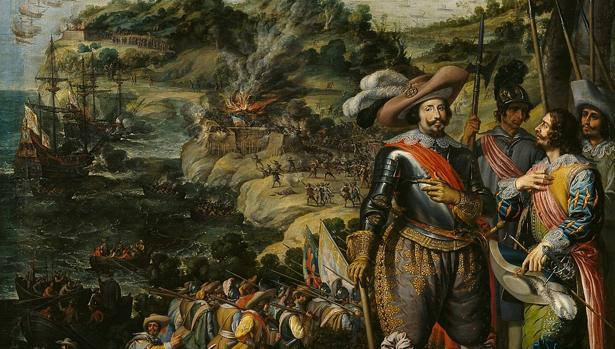 Recuperación de la Isla de San Cristóbal por Don Fadrique Álvarez de Toledo