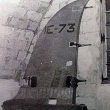 Cola del avión de Ramón Franco, en el Museo del Aire