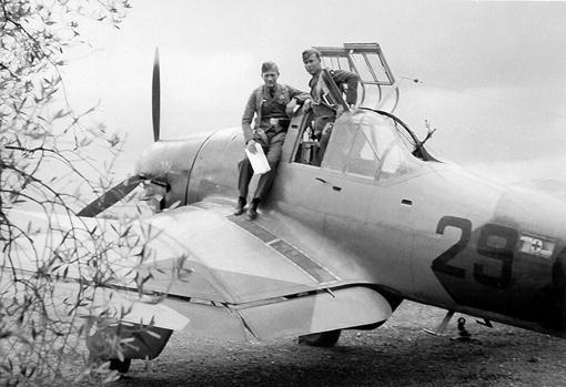 Primera versión del Stuka (A)
