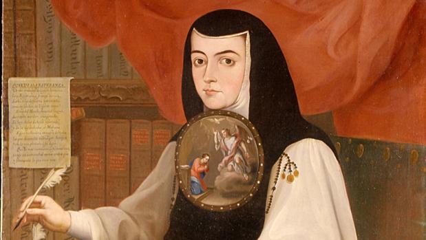 Resultado de imagen para Fotos de Juana Inés de la Cruz