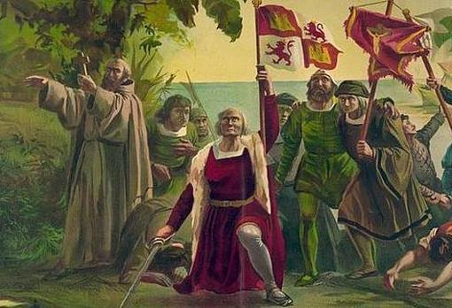 Llegada de Colón a las Américas