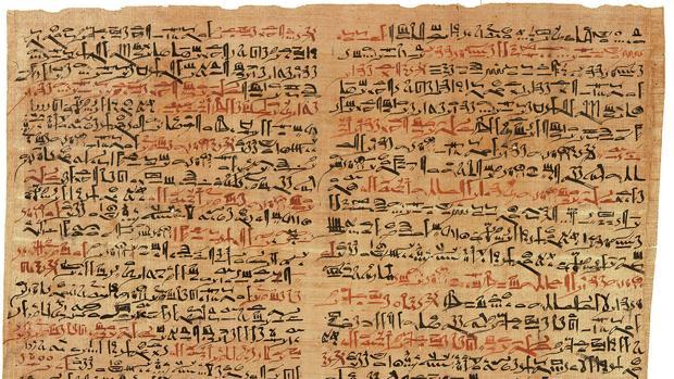 Papiro médico del Antiguo Egipto
