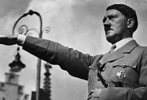 Adolf Hitler durante la contienda