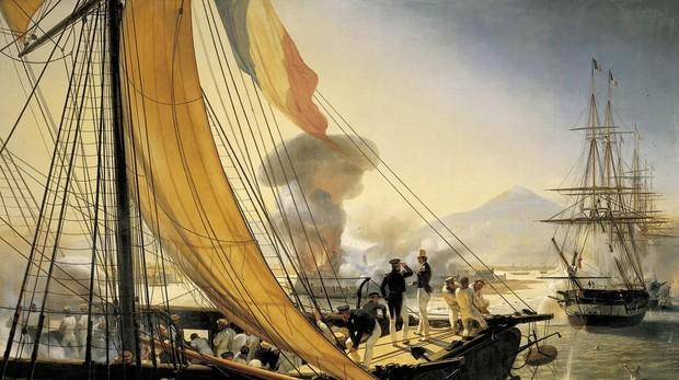 Episodio de la expedición a México en 1838