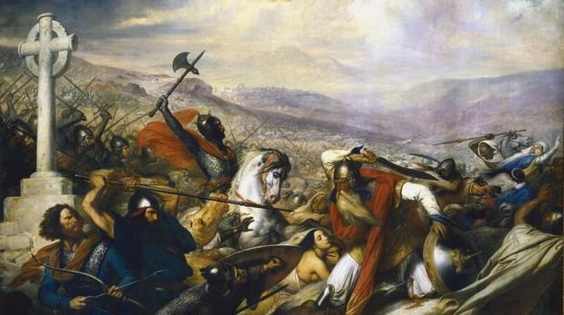 Batalla de Poitiers 732