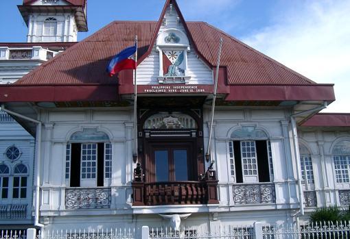 Casa de Emilio Aguinaldo en Cavite, donde ABC realizó la entrevista en 1962