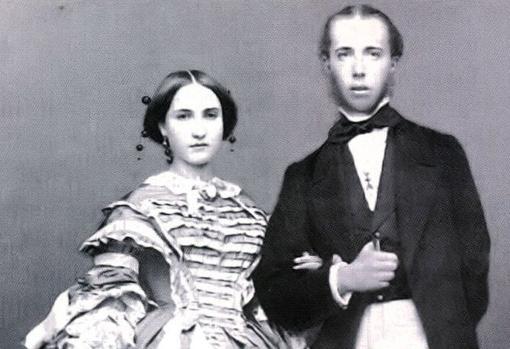 Retrato del archiduque de Austria Maximiliano y la archiduquesa Carlota