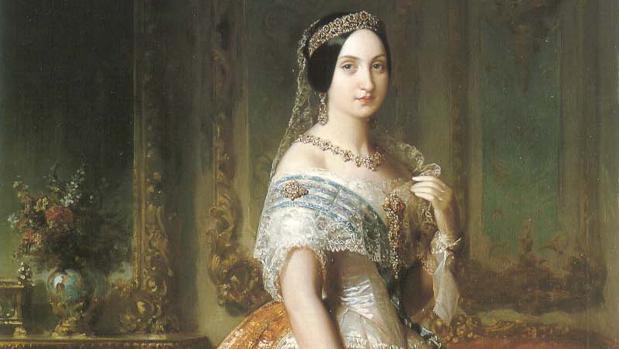 Retrato de Luisa Fernanda de Borbón.