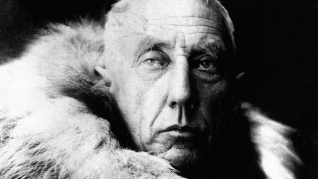 Roald Amundsen, en una de sus expediciones