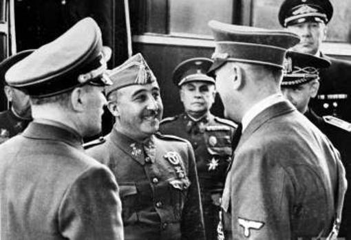 Entrevista de Hendaya entre Hitler y Franco