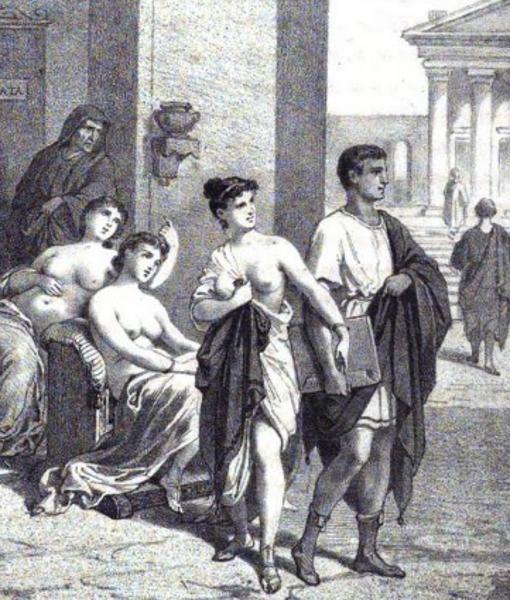 profesion mas antigua las prostitutas en roma