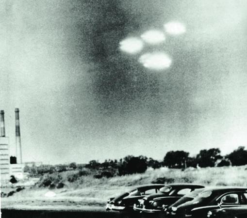 Un fenómeno «ovni» en Salem (Massachussets), 1952