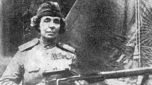 Nina Petrova, la francotiradora