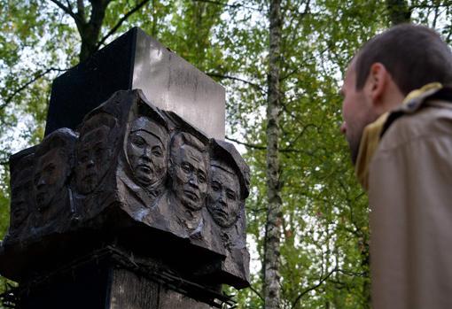 Monumento en recuerdo de las víctimas