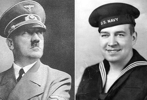 Hitler, junto a su sobrino