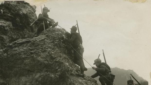 Fotografía del inagotable archivo de ABC sobre la Primera Guerra Mundial