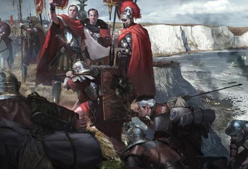 Llegada de Claudio a Britannia
