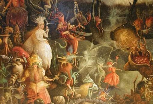 Recreación del Samhain