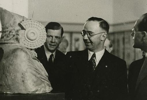 La Ahnenerbe, sección ocultista de las SS nazis, siguió el rastro en nuestro país del Arca de la Alianza y el Cáliz de Cristo