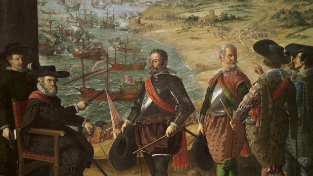 Defensa de Cádiz contra los ingleses, de Zurbarán, 1634