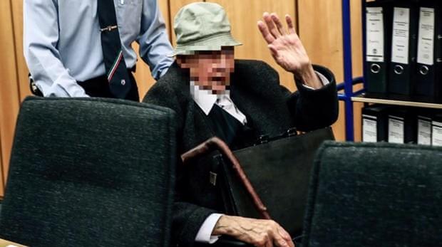 Johann R, durante el juicio