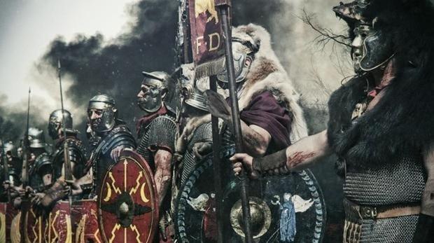 Imagen de recurso de una legión romana