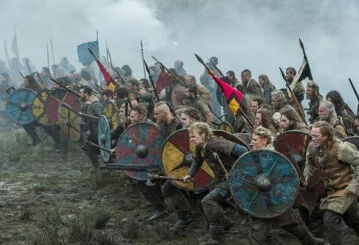 Fotograma de la serie «Vikings»