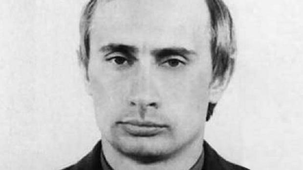 Putin durante su tiempo como agente del KGB