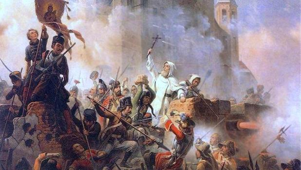 Defensa del Monasterio de Jasna Góra, uno de los episodios del «Diluvio sueco» que golpearon de muerte a la Mancomunidad formada por Lituania y Polonia.