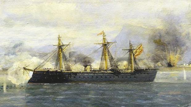 Fragata española «Numancia», la olvidada historia del primer acorazado en dar la vuelta al mundo N1-kriF--620x349@abc