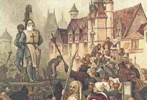 La ejecución de Jacques de Molay
